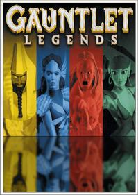 Gauntlet Legends - Fanart - Box - Front