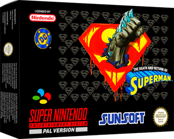 The Death and Return of Superman - Box - 3D