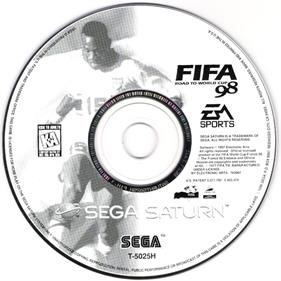 FIFA: Road to World Cup 98 - Disc