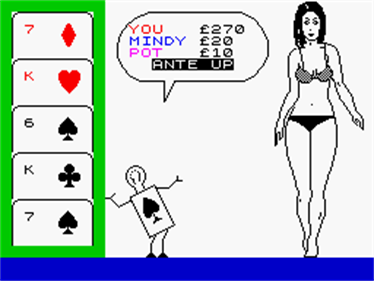 Animated Strip Poker  - Screenshot - Gameplay