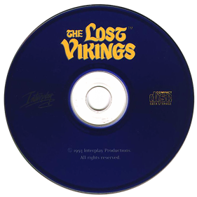 The Lost Vikings - Disc