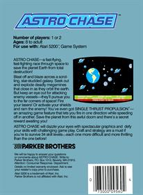 Astro Chase - Box - Back