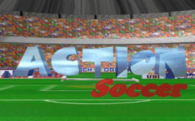 Action Soccer - Screenshot - Game Title