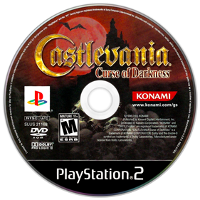 Castlevania: Curse of Darkness - Disc