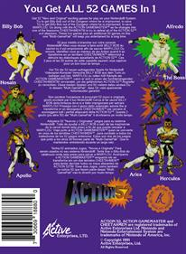 Action 52 - Box - Back