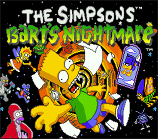The Simpsons: Bart's Nightmare - Screenshot - Game Title
