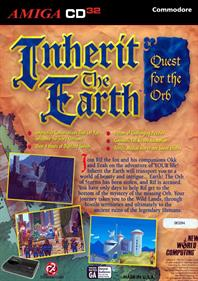 Inherit the Earth: Quest for the Orb - Fanart - Box - Back