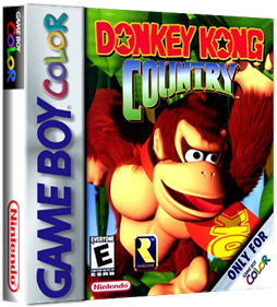 Donkey Kong Country - Box - 3D