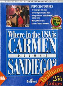 Where in the U.S.A. Is Carmen Sandiego? Deluxe