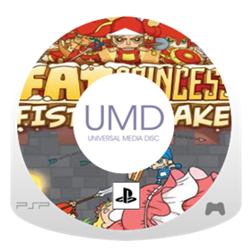 Fat Princess: Fistful of Cake - Fanart - Disc