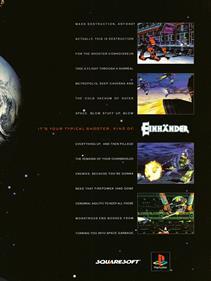 Einhänder - Advertisement Flyer - Front
