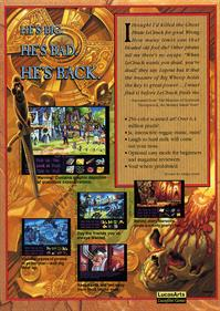 Monkey Island 2: LeChuck's Revenge - Box - Back