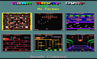 39 In 1: MAME Arcade Classics Bootleg - Screenshot - Game Select