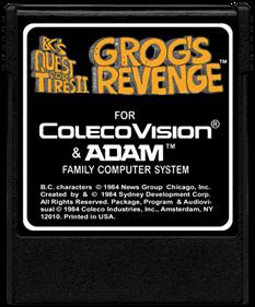 B.C.'s Quest for Tires II: Grog's Revenge - Cart - Front