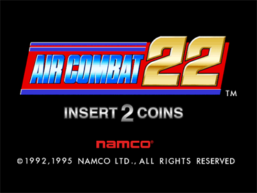 Air Combat 22 - Screenshot - Game Title