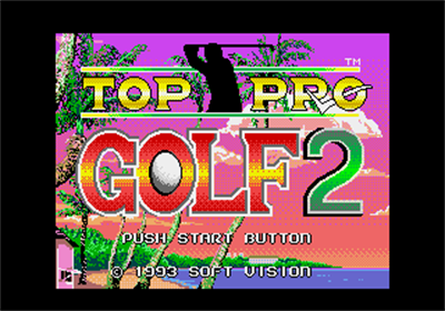 Chi Chi's Pro Challenge Golf - Screenshot - Game Title