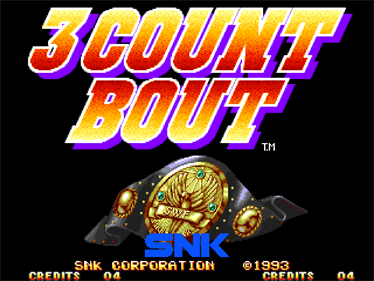 3 Count Bout - Screenshot - Game Title