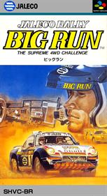 Jaleco Rally Big Run: The Supreme 4WD Challenge