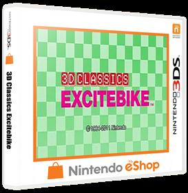 3D Classics: Excitebike - Box - 3D