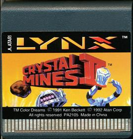 Crystal Mines II - Cart - Front