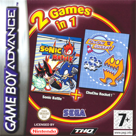 2 Games in 1: Sonic Battle + ChuChu Rocket!