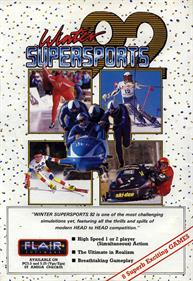 Winter Supersports 92  - Advertisement Flyer - Front