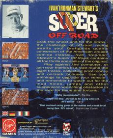 "Ivan ""Ironman"" Stewart's Super Off Road - Box - Back"