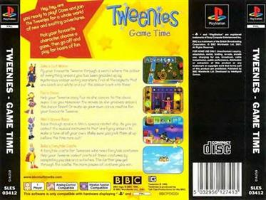 Tweenies: Game Time - Box - Back