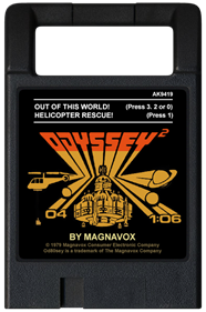 Out of this World / Helicopter Rescue - Cart - Front