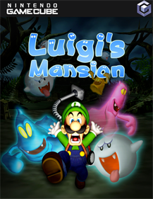 Luigi's Mansion - Fanart - Box - Front