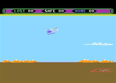 Choplifter - Screenshot - Gameplay