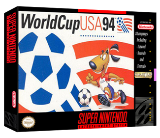 World Cup USA 94 - Box - 3D