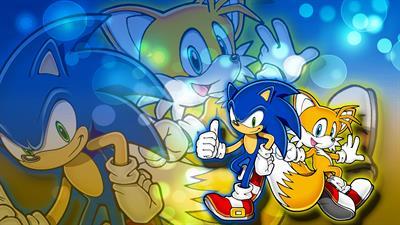 Sonic the Hedgehog: Triple Trouble - Fanart - Background