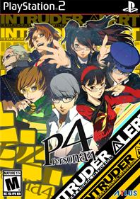 Shin Megami Tensei: Persona 4 - Fanart - Box - Front