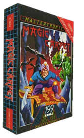 Magic Carpet - Box - 3D