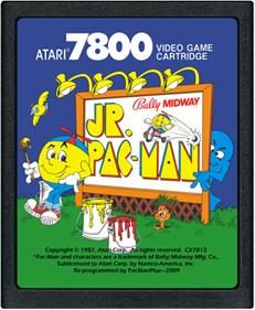 Jr. Pac-Man - Cart - Front