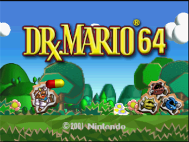 Dr. Mario 64 - Screenshot - Game Title