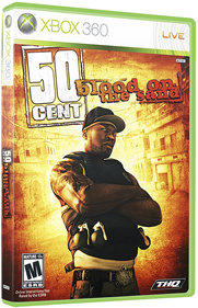 50 Cent: Blood on the Sand - Box - 3D