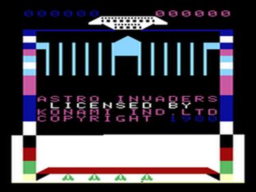 Astro Invader - Screenshot - Game Title
