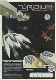 Uridium - Advertisement Flyer - Front