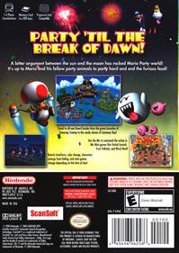 Mario Party 6 - Box - Back