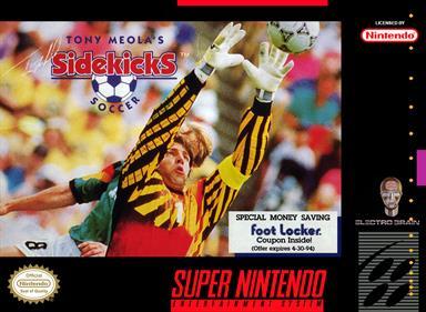Tony Meola's Sidekicks Soccer - Box - Front