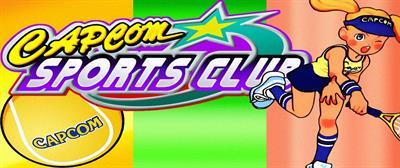 Capcom Sports Club - Arcade - Marquee