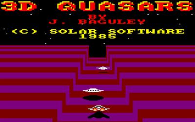 3D Quasars - Screenshot - Game Title