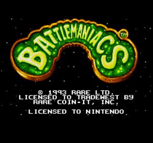 Battletoads in Battlemaniacs - Screenshot - Game Title