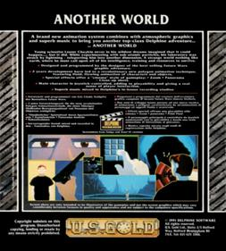 Another World - Box - Back