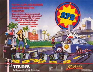 APB - Advertisement Flyer - Front