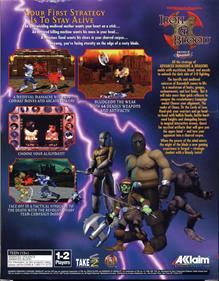 Iron & Blood: Warriors of Ravenloft - Box - Back