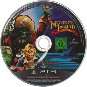 Monkey Island: Special Edition Collection - Disc