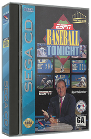 ESPN Baseball Tonight - Box - 3D
